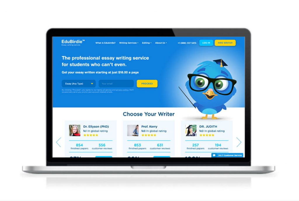 EduBirdie website preview