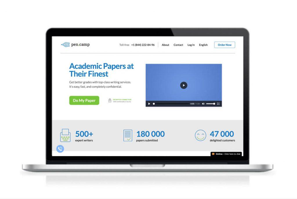PenCamp website preview