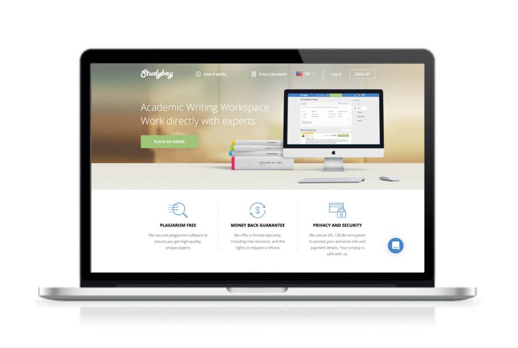StudyBay website preview