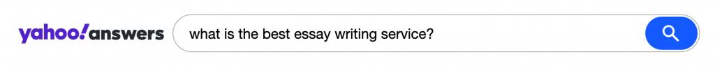 Essay writing company testimonials