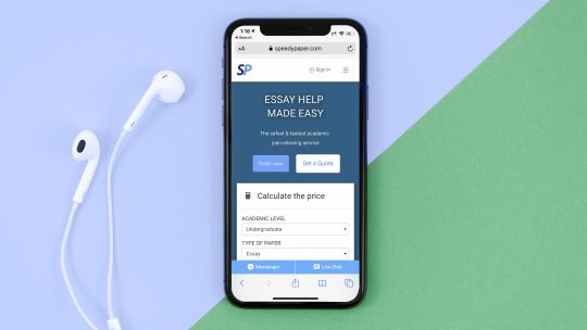 SpeedyPaper.com website preview